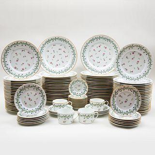 Gérard, Dufraisseix & Abbot Limoges Porcelain Part Service  in the 'Pastorale' Pattern