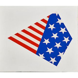 Al HANSEN (American, 1927-1995)