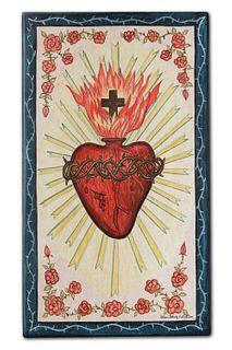 Ellen Chávez de Leitner, El Sagrado Corazón de Jesús