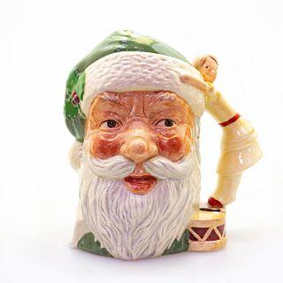 Lg Royal Doulton Character Jug, Santa Claus, Colorway