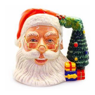 Large Royal Doulton Character Jug, Santa Claus D7123