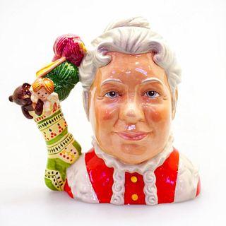 Large Royal Doulton Character Jug, Mrs Claus D7242