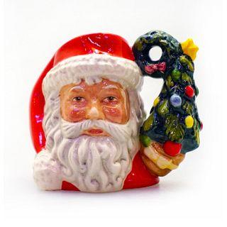 Mini Royal Doulton Character Jug, Santa Claus D7244