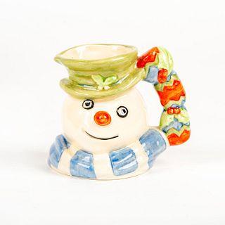 Mini Doulton Character Jug, Christmas Cracker Snowman D7158