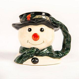 Mini Royal Doulton Character Jug, Snowman D6972