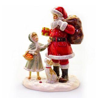 A Gift For Santa HN5733 - Royal Doulton Figure