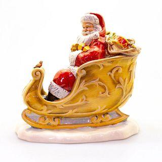 Santa's Sleigh HN5689 - Royal Doulton Figurine