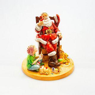 Father Christmas 2011 HN5436 - Royal Doulton Figurine