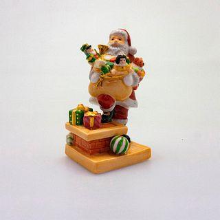 Santa Rooftop Mini HN4714 - Royal Doulton Figurine