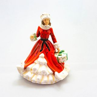 English Ladies Co. Porcelain Figurine, All Wrapped Up