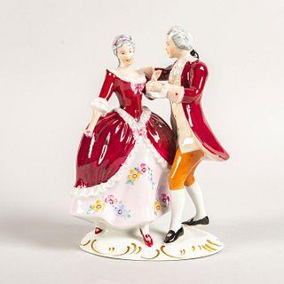 Royal Dux Figurine, Couple Dancing