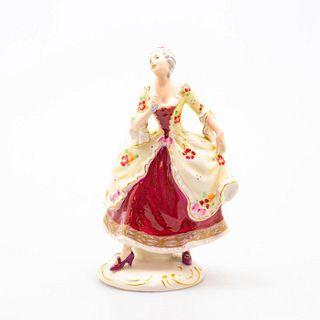 Royal Dux Figurine, Lady With Fan