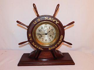 SETH THOMAS NAVAL SHIPS CLOCK