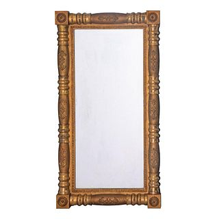 19th Century Empire Gold Wall Mirror