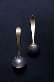 Small Tinned Ladle