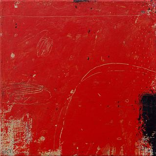 Kevin Tolman, Faded Monument (In Red)
