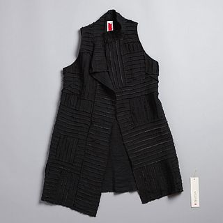 Pieced Merchant Vest in Anthracite