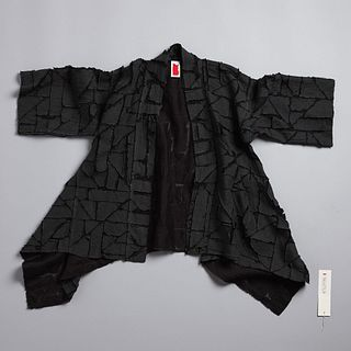 Puzzle Gusseted Haori in Anthracite