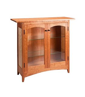 Tom Dumke Cherry Display Cabinet