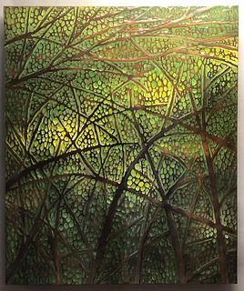 Michael Bauermeister Verdant Light Wood Hanging
