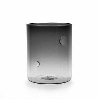 Dimple Series Medium Cylinder- Smoke