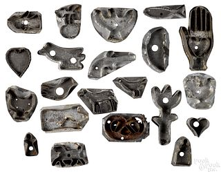Collection of cookie cutters 19th c.