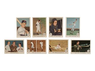 A 1959 Fleer Ted Williams Near Set (79 of 80) Missing No. 68 Ted Signs,