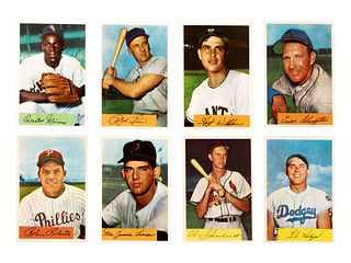 A Near Set of 1954 Bowman Baseball Cards,