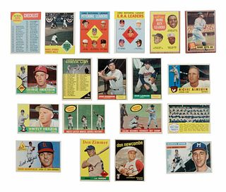 A Collection of 1,948 Post War (1955-63) Topps Baseball Cards,