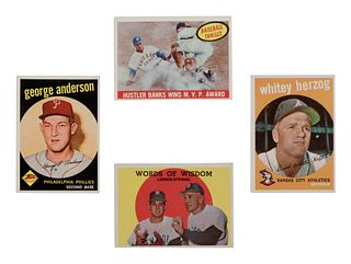 A Near Set of 1959 Topps Baseball Cards,