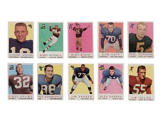A 1959 Topps Football Complete Set,
