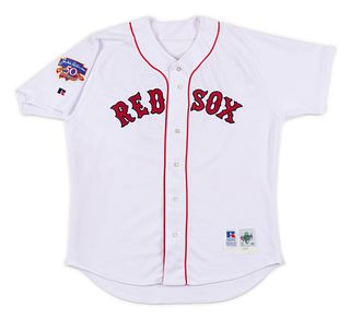 A 1997 Nomar Garciaparra Boston Red Sox Game Used / Issued Jersey,