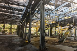 Aaron Richardson, Albuquerque Rail Yards, Machine Shop 09/21/2018 07:16 AM