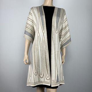100%  Egyptian Cotton Knit Mid Century Cape