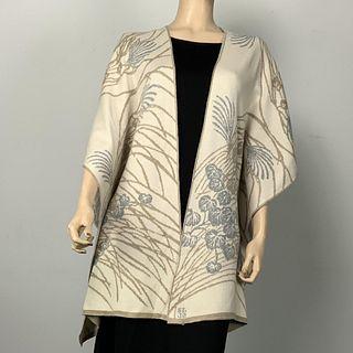 100%  Egyptian Cotton Knit Moonscape Cape