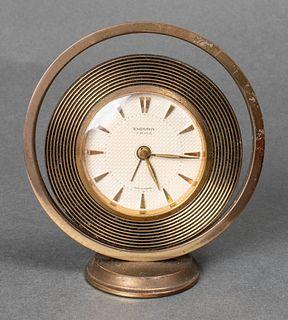 Endura France Mid-Century Modern Desk Clock