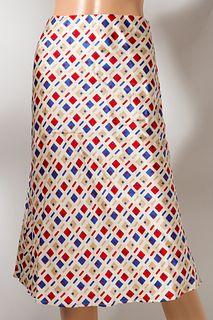 Italian Designer Silk Skirt