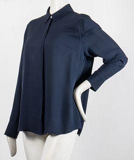 Frame Designer Silk Dress Shirt