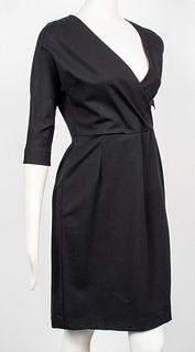 Jil Sander Black Fitted Dress