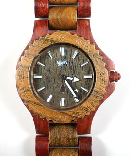 "WeWOOD Date ""Chocolate"" Wooden Watch"