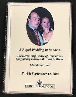 Photo Album, A Royal Wedding in Bavaria: The Hereditary