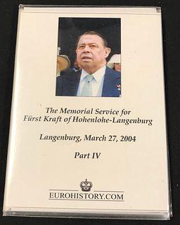 Photo Album, The Memorial Service for Furst Kraft of