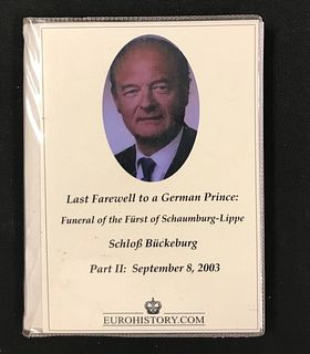 Photo Album, Last Farewell to a German Prince: Funeral