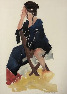Laura Katz Watercolor Painting