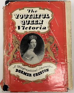 The Youthful Queen Victoria By Dorma Creston 1952