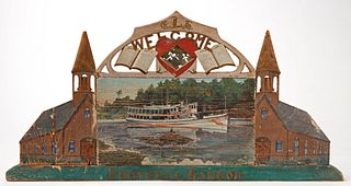 Important Maine - Boothbay Harbor Sign