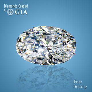 4.53 ct, Color H/IF, Oval cut Diamond