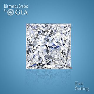 3.55 ct, Color D/IF, Princess cut Diamond