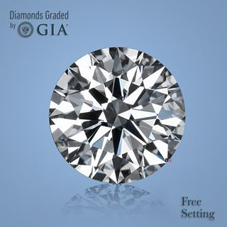 2.60 ct, Color F/VVS1, Round cut Diamond