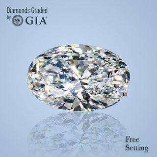 2.01 ct, Color D/VS1, Oval cut Diamond
